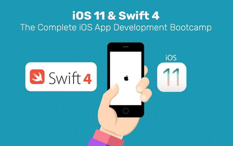iOS 11 & Swift 4 - The Complete iOS App Development Bootcamp (Udemy)