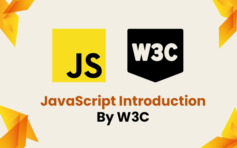JavaScript Introduction By W3C