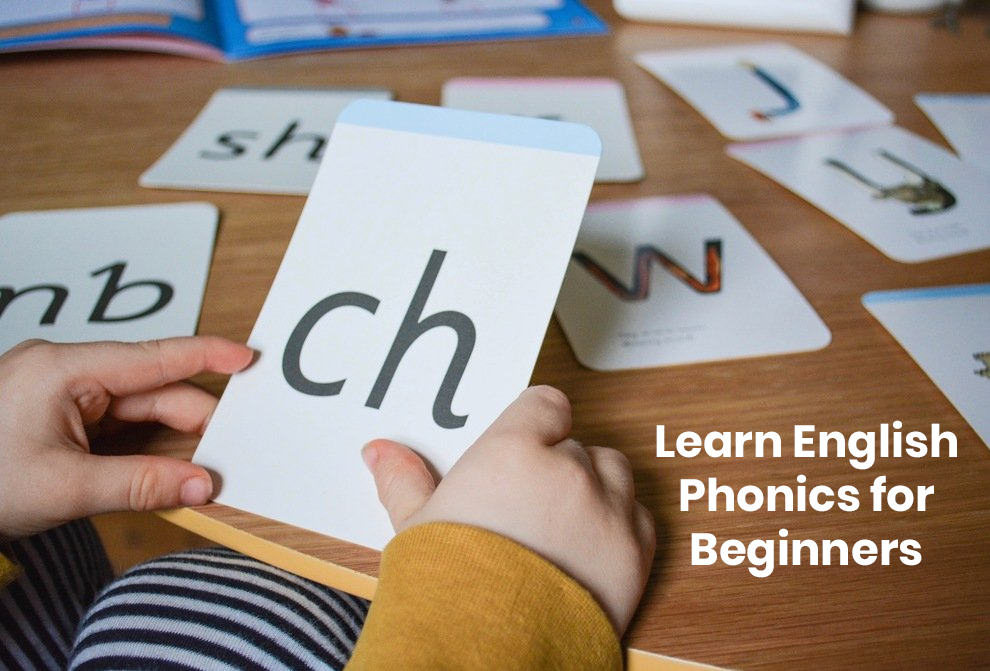 Learn English Phonics for Beginners [Udemy]