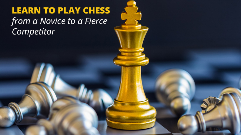 Learn to Play Chess: from a Novice to a Fierce Competitor [Udemy]