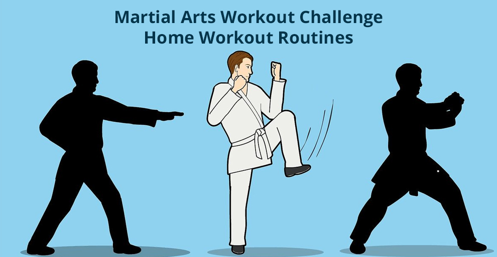 Martial Arts Workout Challenge | Home Workout Routines - Udemy