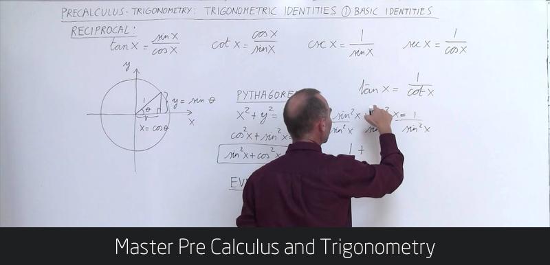 Master Pre Calculus and Trigonometry - (Udemy)