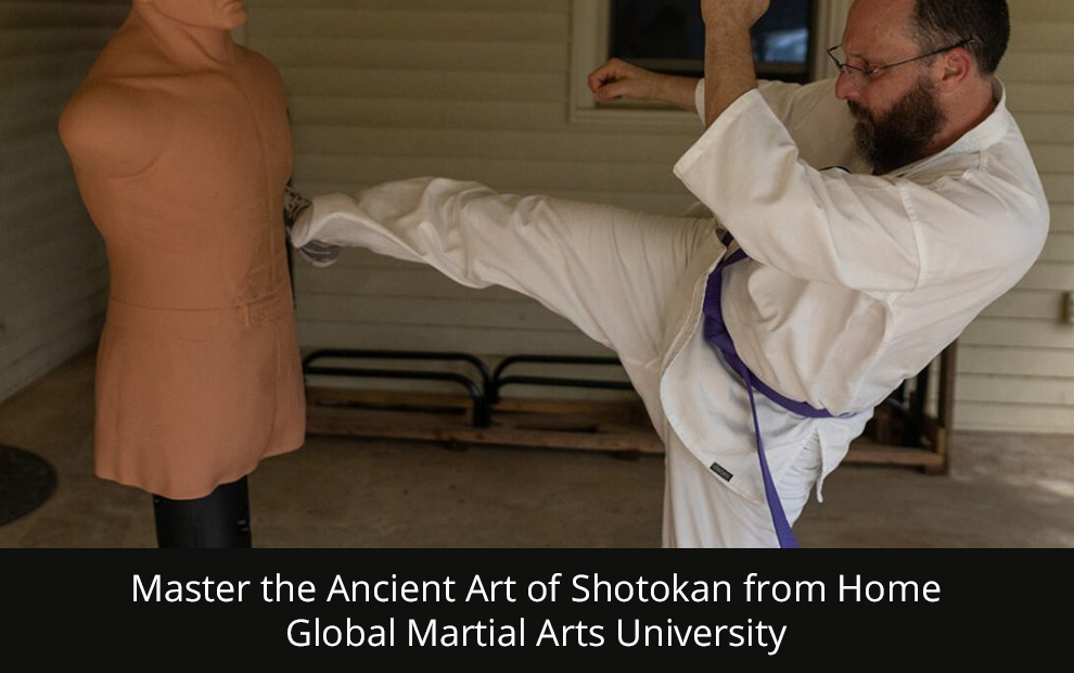 Master the Ancient Art of Shotokan from Home - Global Martial Arts University