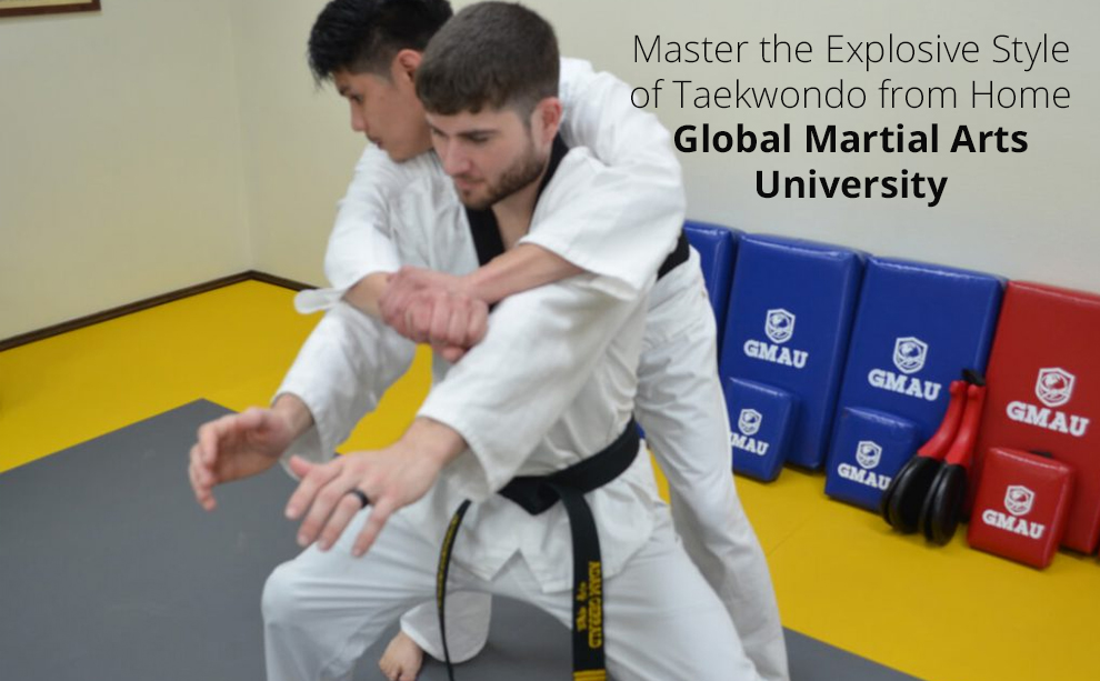 Master the Explosive Style of Taekwondo from Home - Global Martial Arts University