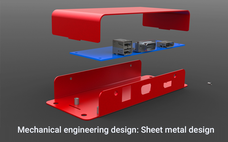 Mechanical engineering design: Sheet metal design - (Udemy)