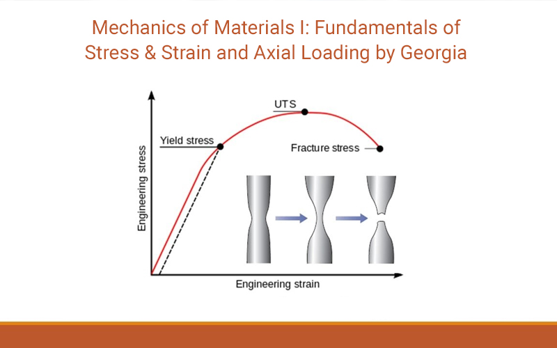Mechanics of Materials I: Fundamentals of Stress & Strain and Axial Loading by Georgia Tech - (Coursera)