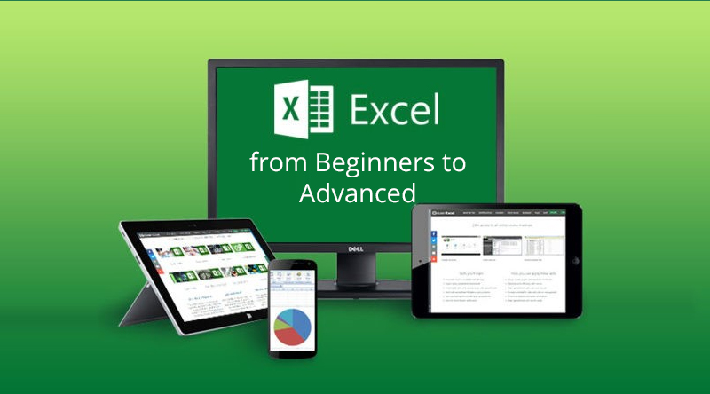 Microsoft Excel – Excel from Beginners to Advanced [Udemy]