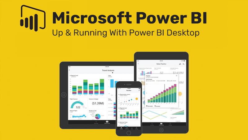 Microsoft Power BI - Up & Running With Power BI Desktop (Udemy)