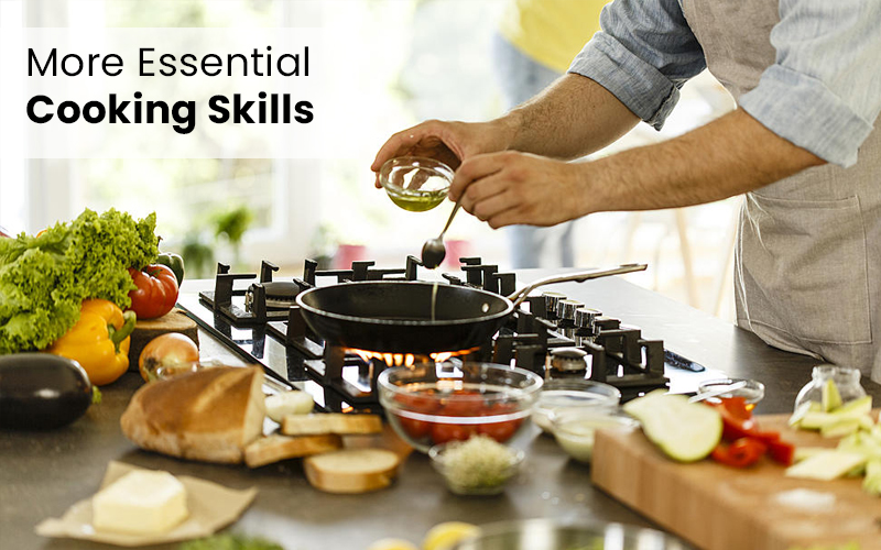 More Essential Cooking Skills [Udemy]
