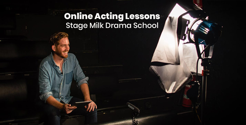 Online Acting Lessons -Stage Milk Drama School