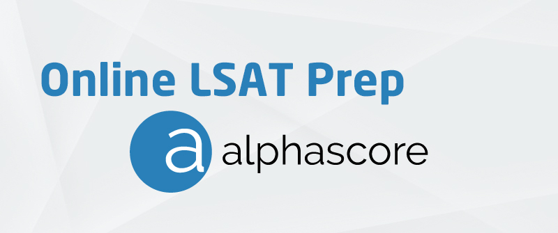 Online LSAT Prep Course [AlphaScore]