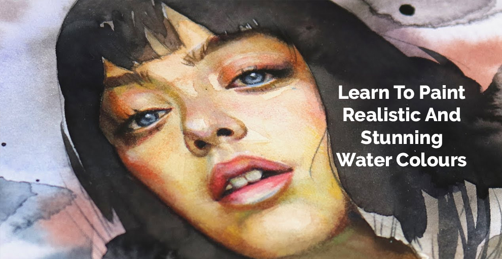 Learn to Paint Realistic and Stunning Watercolours - Anna Mason