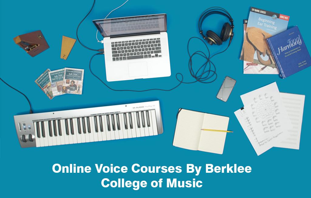 Online Voice Courses By Berklee College of Music [Berklee Online]
