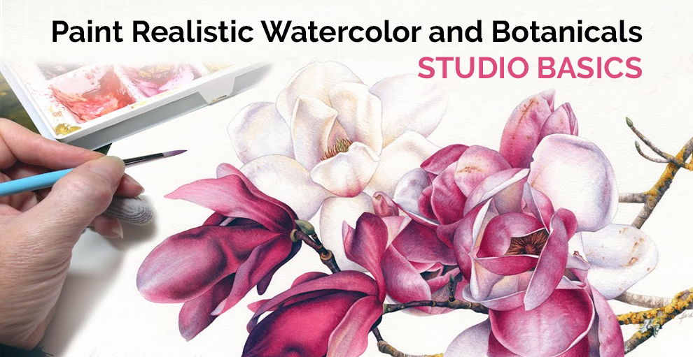 Paint Realistic Watercolor and Botanicals - STUDIO BASICS - Udemy