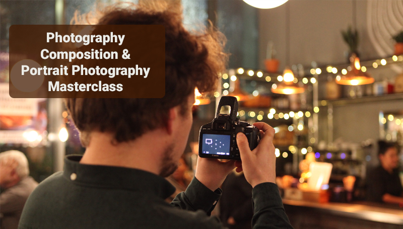 Photography Composition & Portrait Photography Masterclass – Udemy