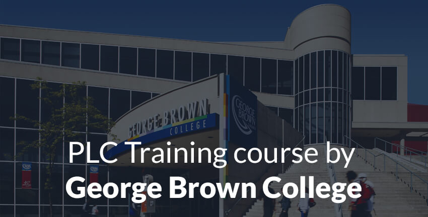 Programmable Logic Controllers Technician Certificate Program by George Brown College