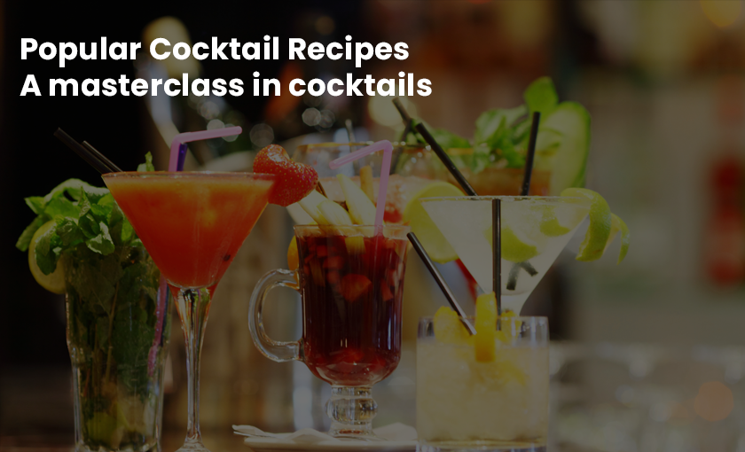 Popular Cocktail Recipes - A masterclass in cocktails [Udemy]