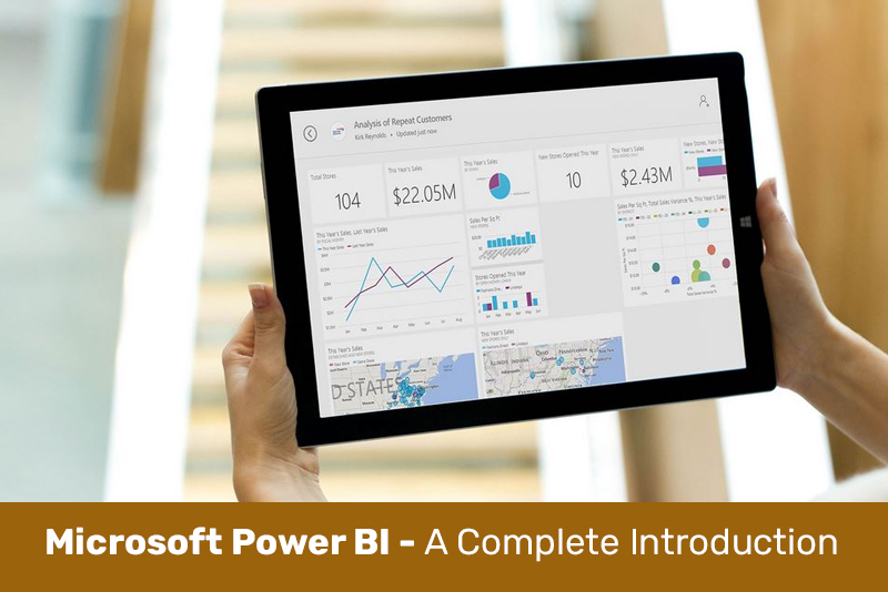 Microsoft Power BI - A Complete Introduction [2020 EDITION] (Udemy)