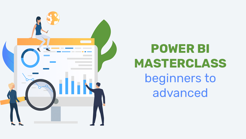 Power BI Masterclass – beginners to advanced (Udemy)