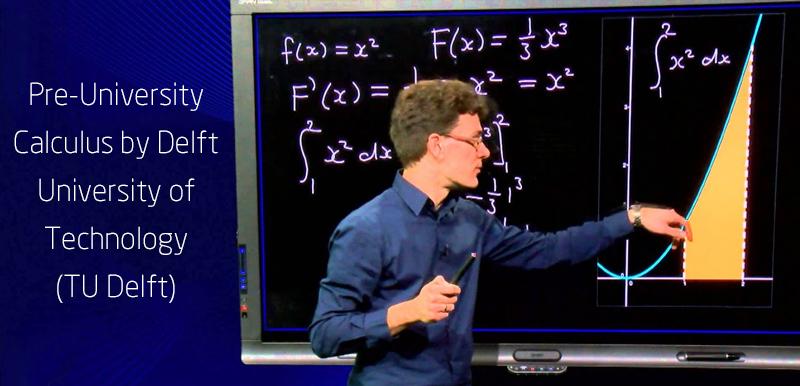 Pre-University Calculus by Delft University of Technology (TU Delft) - (edX)