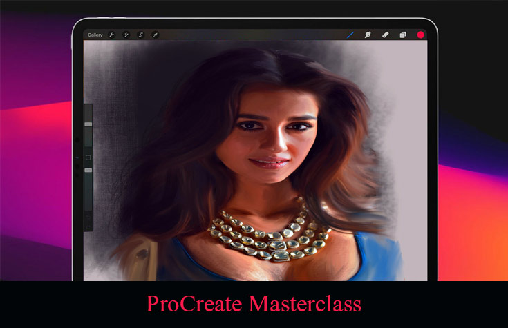 ProCreate Masterclass: How to Draw and Paint on iPad Course [Udemy]