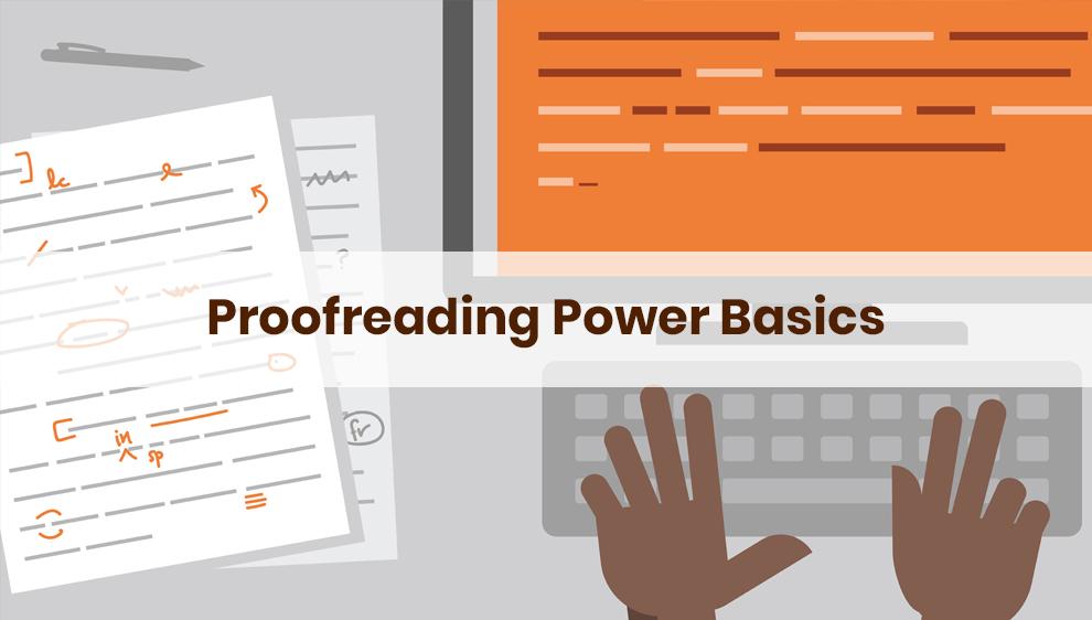 Proofreading Power Basics – Udemy