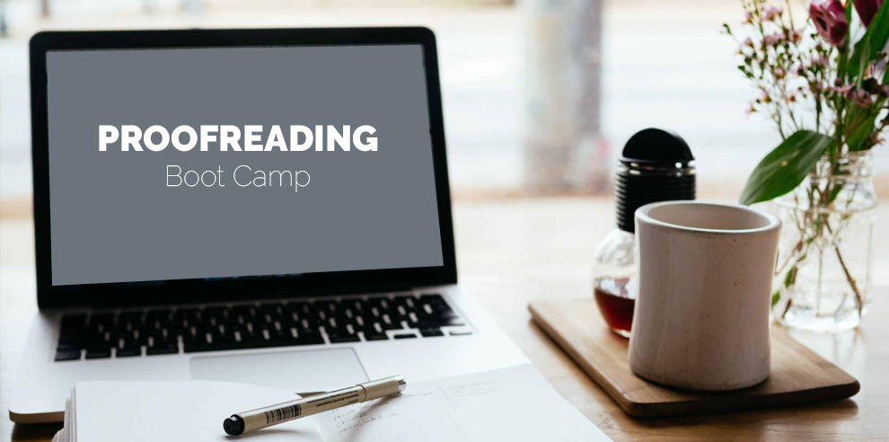 Proofreading Boot Camp – Inklyo