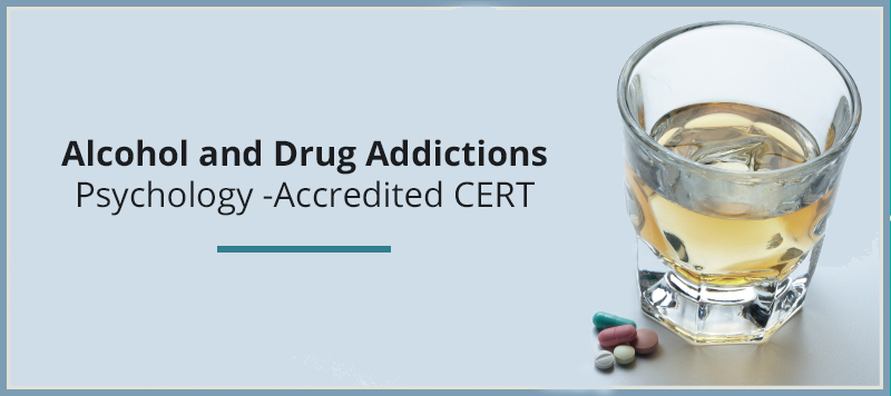 Alcohol and Drug Addictions: Psychology – Accredited CERT [Udemy]