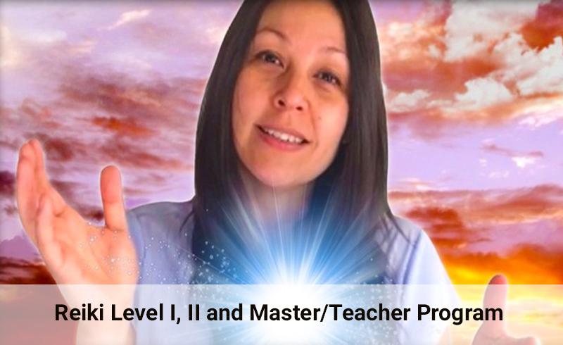 Reiki Level I, II and Master/Teacher Program (Udemy)