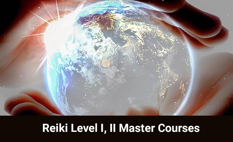 Reiki Level I, II Master Courses (Online Reiki Course)