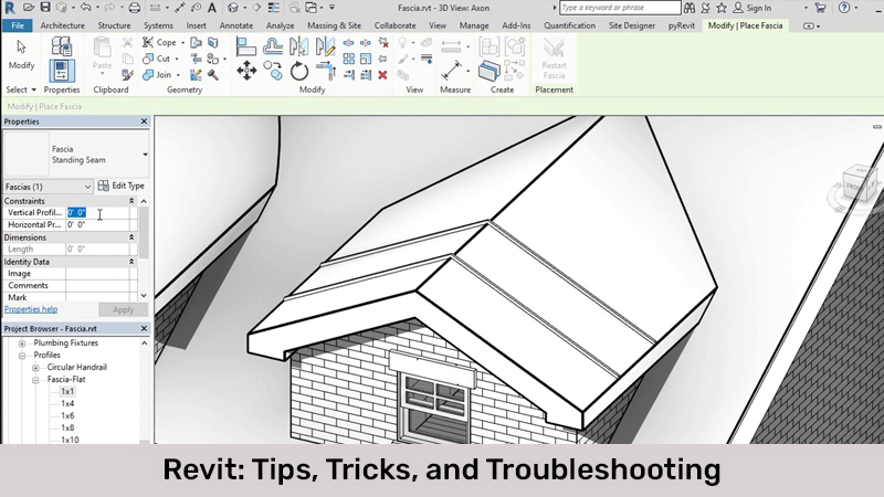 Revit: Tips, Tricks, and Troubleshooting [Lynda]