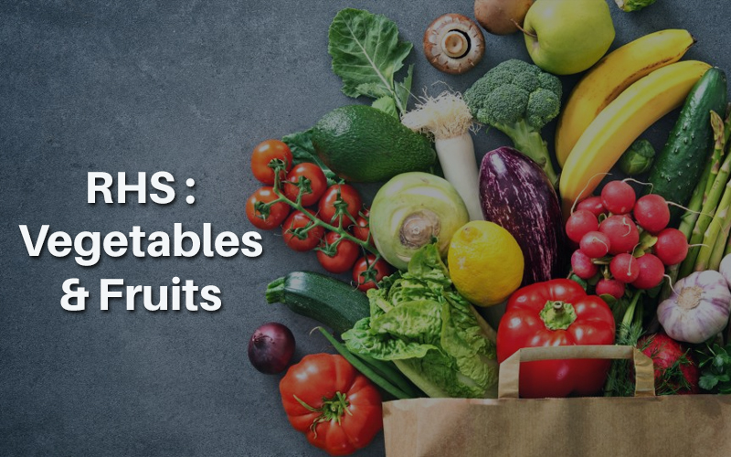 RHS: Vegetables & Fruits [Learning With Experts]