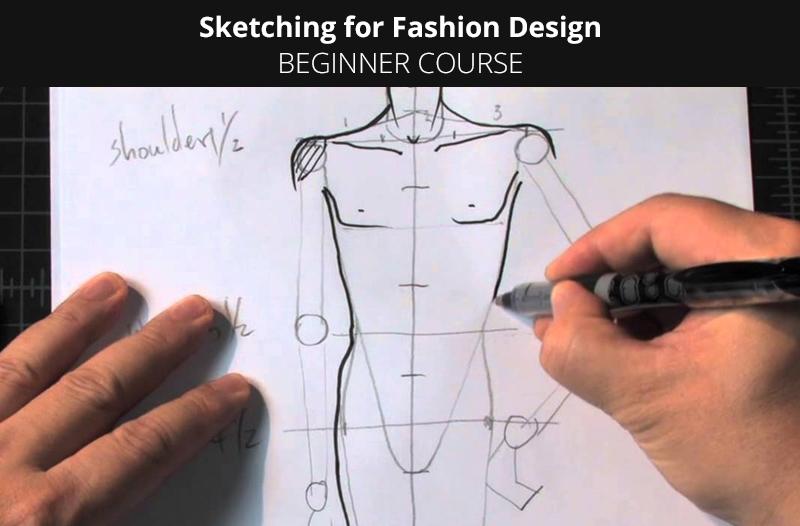 Sketching for Fashion Design – Beginner Course [Udemy]