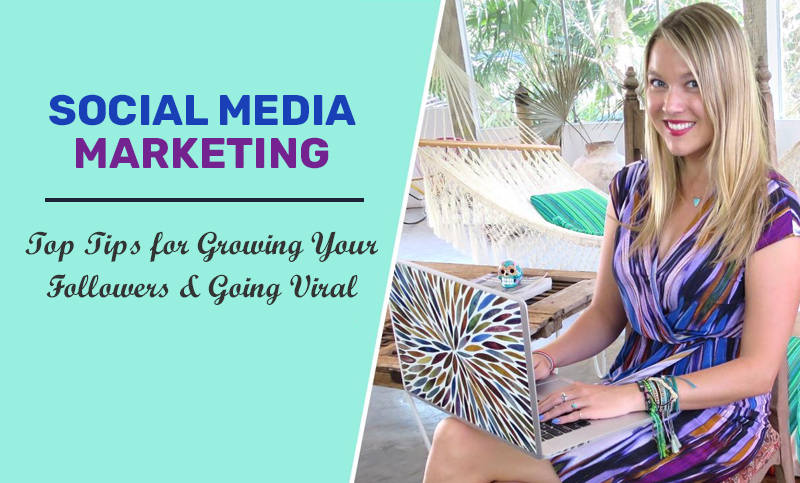 Social Media Marketing: Top Tips for Growing Your Followers & Going Viral (Skillshare)