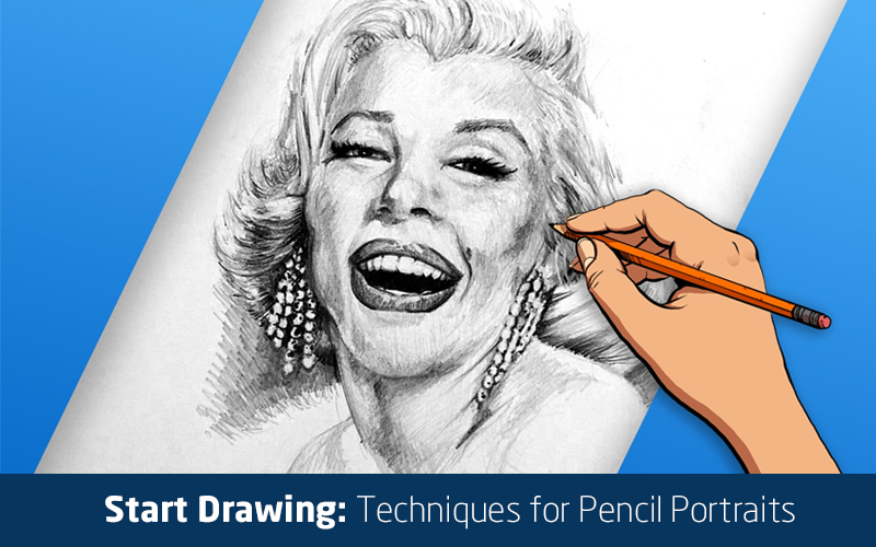 Start Drawing: Techniques for Pencil Portraits (Skillshare)