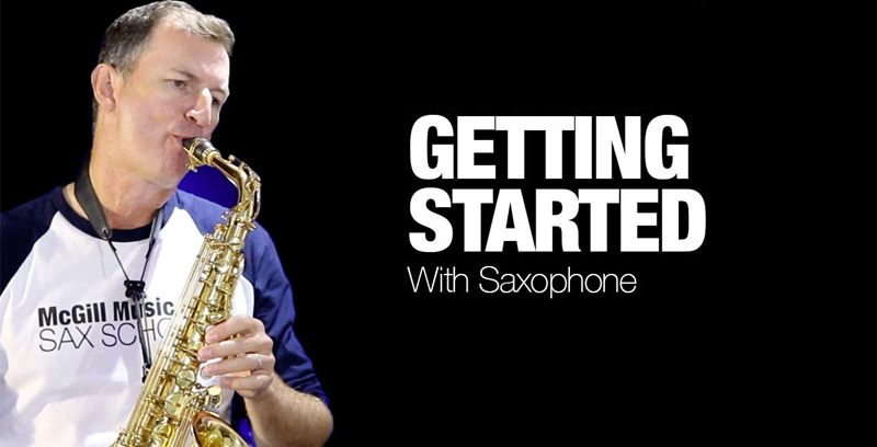 Getting Started with Saxophone [Sax School]