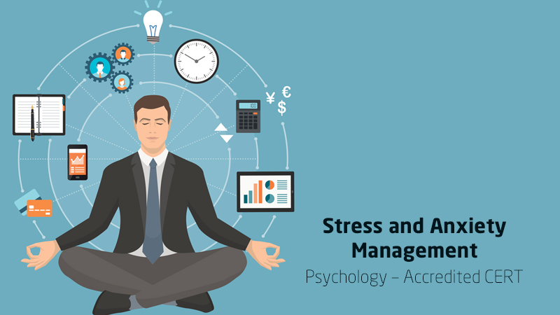 Stress and Anxiety Management: Psychology – Accredited CERT [Udemy]