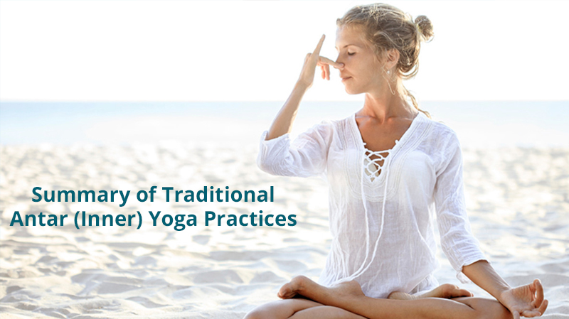 Summary of Traditional Antar (Inner) Yoga Practices [Udemy]