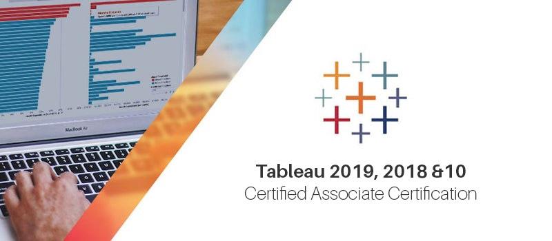 Tableau 2019, 2018 & 10: Certified Associate Certification [Udemy]