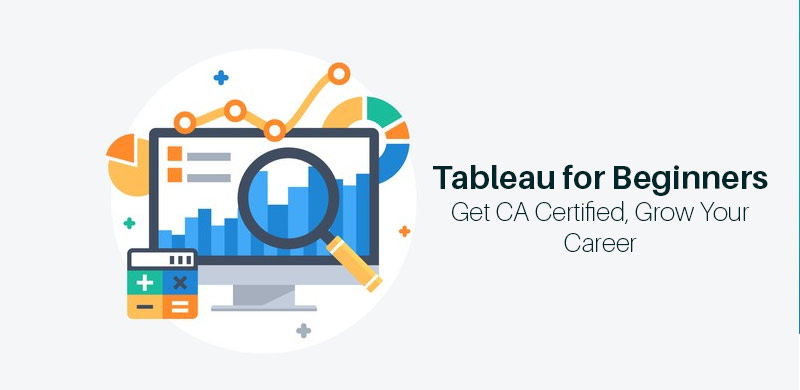 Tableau for Beginners: Get CA Certified, Grow Your Career [Udemy]