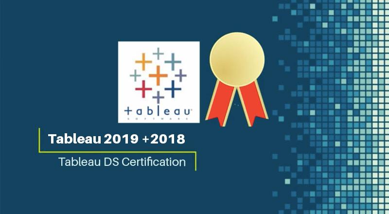 Tableau 2019 + Tableau 2018: Tableau DS Certification [Udemy]