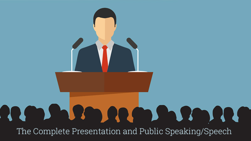 The Complete Presentation and Public Speaking/Speech Course [Udemy]