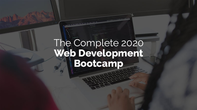 The Complete 2020 Web Development Bootcamp [Udemy]