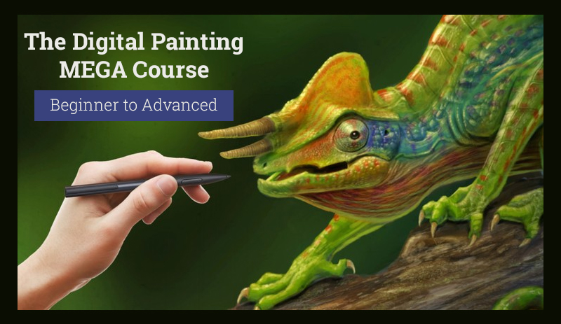 The Digital Painting MEGA Course: Beginner to Advanced (Udemy)