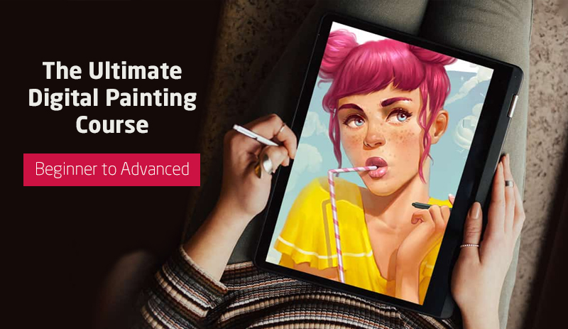The Ultimate Digital Painting Course - Beginner to Advanced (Udemy)
