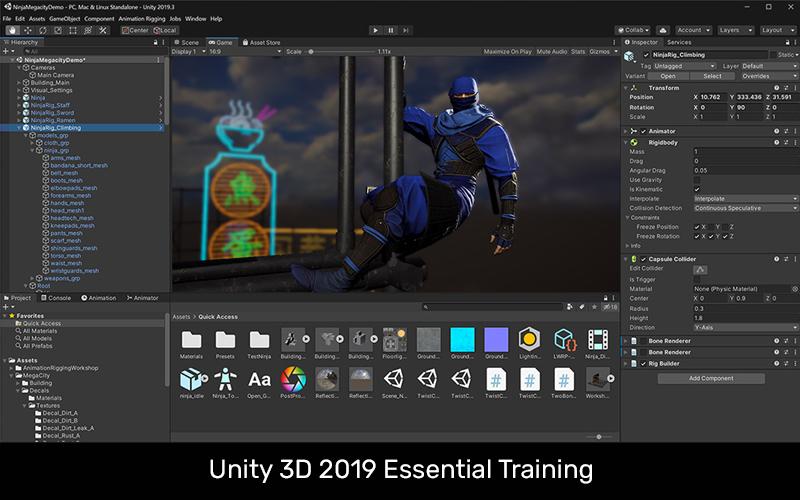 Unity 3D 2019 Essential Training [LinkedIn]