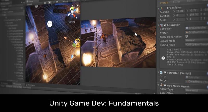 Unity Game Dev: Fundamentals [Pluralsight]