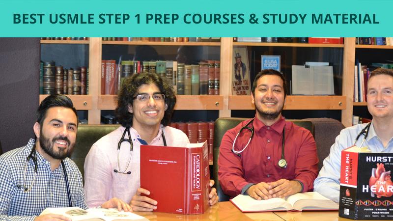 Best USMLE Step 1 Prep Courses Study Material