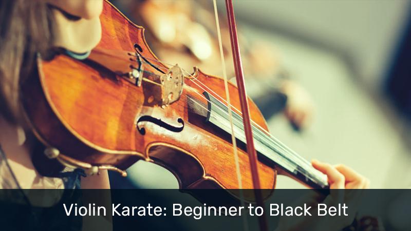 Violin Karate: Beginner to Black Belt (Udemy)