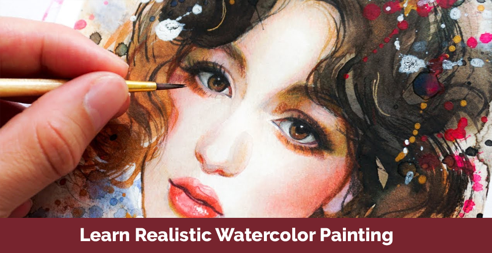 Learn Realistic Watercolor Painting - Rebecca Rhodes